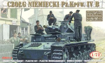 Pz. Kpfw. IV B 21 Panzerdivision 1943 · MG 72852 ·  Mirage Hobby · 1:72
