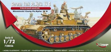 PzKpfw IV Tropenpanzer · MG 72856 ·  Mirage Hobby · 1:72