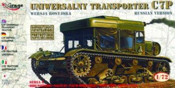 Universal Traktor C7P mit Fotoätzteilen · MG 72893 ·  Mirage Hobby · 1:72