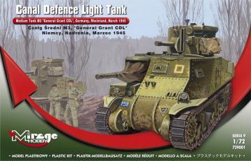 Medium Tank M3 ´General Grant´ · MG 729001 ·  Mirage Hobby · 1:72
