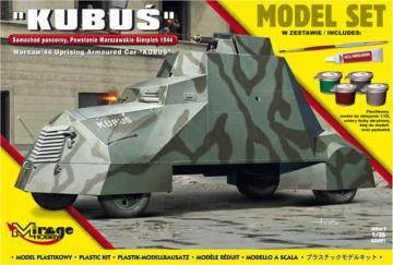 Kubus (Warsaw´44 Uprising Armoured Car) Model Set · MG 835091 ·  Mirage Hobby · 1:35