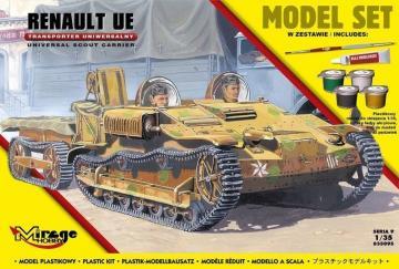Renault UE reconnaissance tankette (Model Set) · MG 835095 ·  Mirage Hobby · 1:35