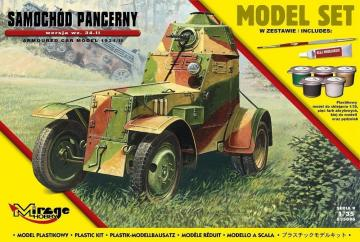 Armoured Car Model 1943/II (Model Set) · MG 835096 ·  Mirage Hobby · 1:35