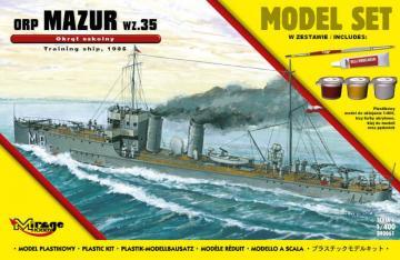 ORPMAZUR1935 (Training Ship) (Model Set) · MG 840061 ·  Mirage Hobby · 1:400