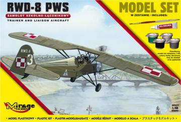 R.W.D.-8 PWS (Trainer a.Liaison plan version) (Model Set) · MG 848092 ·  Mirage Hobby · 1:48