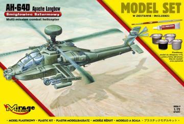 AH-64D APACHE Longbow (Model Set) · MG 872091 ·  Mirage Hobby · 1:72