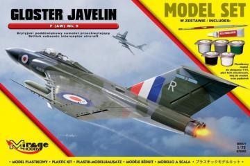 Gloster Javelin F (AW) Mk 9 (British Subsonic Interceptor Aircraft) · MG 872093 ·  Mirage Hobby · 1:72