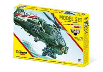 AH-64 A Apache - Model Set · MG 872094 ·  Mirage Hobby · 1:72