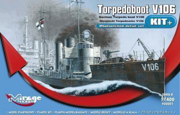 Torpedoboot V106 · MG 900001 ·  Mirage Hobby · 1:400