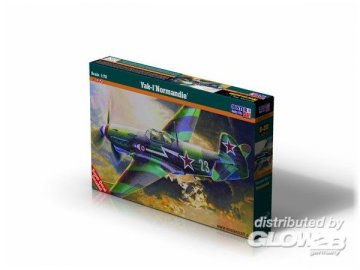 Yak-1M Normandie · MC B19 ·  Mistercraft · 1:72