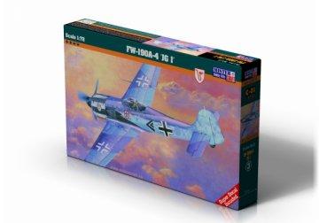 Focke Wulf Fw-190 A-4 · MC C01 ·  Mistercraft · 1:72