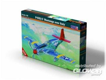 P-51 B-7 Mustangs over Italy · MC C105 ·  Mistercraft · 1:72
