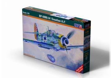 Messerschmitt BF 109 G-14 Croatian A.F. · MC C151 ·  Mistercraft · 1:72