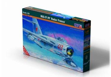 MiG-17 PF Radar Fresco · MC C29 ·  Mistercraft · 1:72