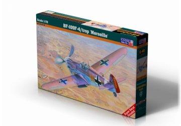Messerschmitt BF 109 F-4/trop Marseille · MC C40 ·  Mistercraft · 1:72