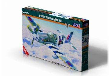 P-51B Mustang MK.III · MC C47 ·  Mistercraft · 1:72