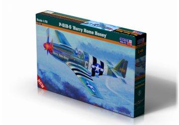 P-51 B-5 Mustang Hurry Home Honey · MC C49 ·  Mistercraft · 1:72