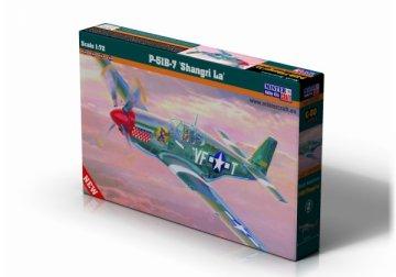P-51 B-7 Mustang Shangri LA · MC C50 ·  Mistercraft · 1:72