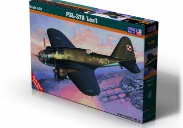 PZL P-37A Los I · MC D06 ·  Mistercraft · 1:72