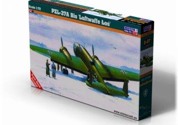 PZL P-37A Los I Luftwaffe · MC D07 ·  Mistercraft · 1:72