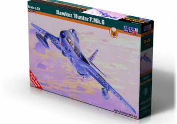 Hawker Hunter F.Mk.6 · MC D10 ·  Mistercraft · 1:72