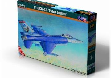 F-16C-42 Tulsa Indiains · MC D105 ·  Mistercraft · 1:72