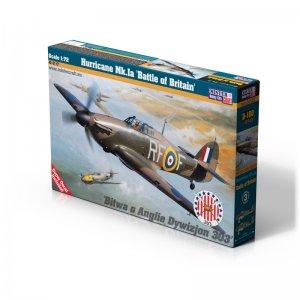 Hurricane Mk.Ia Battle of Britan · MC D180 ·  Mistercraft · 1:72