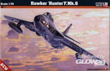 Hawker Hunter F.Mk.6 · MC D201 ·  Mistercraft · 1:72