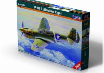 P-40E Aleutian Tiger · MC D202 ·  Mistercraft · 1:72