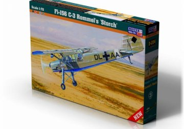 Fi-156 C-3 Rommels Storch · MC D204 ·  Mistercraft · 1:72
