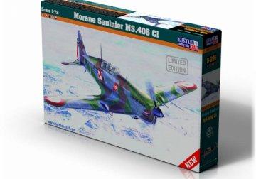 Morane Saulnier MS.406 CI · MC D206 ·  Mistercraft · 1:72