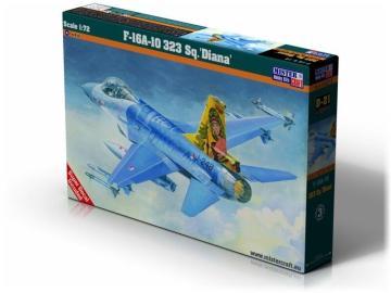 F-16A-10 323 Sq. Diana · MC D21 ·  Mistercraft · 1:72