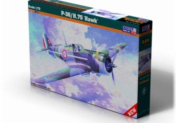 P-36/H.75 Hawk · MC D214 ·  Mistercraft · 1:72