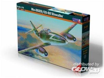 Messerschmitt Me 262 B/CS-92 Schwalbe · MC D215 ·  Mistercraft · 1:72