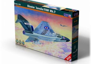 Gloster Javelin FAW MK.7 · MC D26 ·  Mistercraft · 1:72