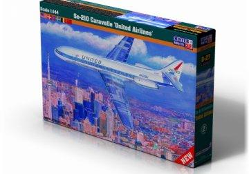 Se-210 United Airlines · MC D27 ·  Mistercraft · 1:144