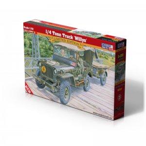 1/4 Tonn Truck Willys · MC D299 ·  Mistercraft · 1:72