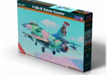 F-16A Block 15 Halcon Cazador · MC D34 ·  Mistercraft · 1:72