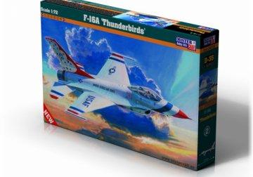 F-16A Thunderbirds · MC D35 ·  Mistercraft · 1:72
