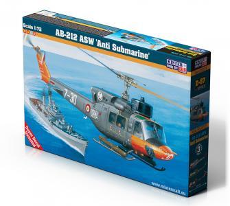 AB-212 ASW Anti Submarine · MC D57 ·  Mistercraft · 1:72