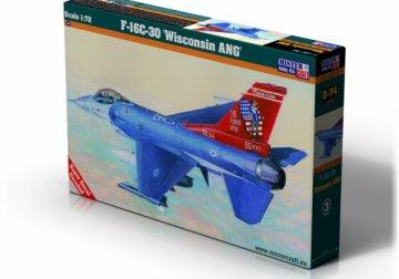 F-16C-30 Wisconsin ANG · MC D74 ·  Mistercraft · 1:72