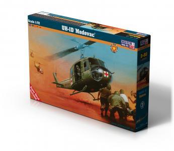 UH-1D MEDEVAC · MC D80 ·  Mistercraft · 1:72