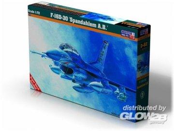 F-16D-30 Spadahlem A.B. · MC D82 ·  Mistercraft · 1:72
