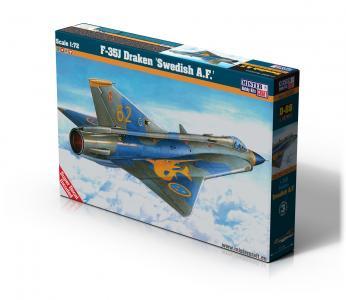 J-35J Draken Swedish A.F · MC D88 ·  Mistercraft · 1:72