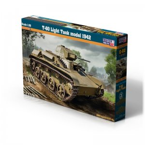 T-60 Light Tank model 1942 · MC E02 ·  Mistercraft · 1:35