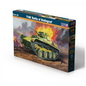 T-60 Battle of Stalingrad · MC E04 ·  Mistercraft · 1:35