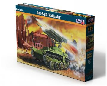 BM-8-24 KATJUSHA · MC E28 ·  Mistercraft · 1:35