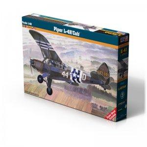 Piper L-4H CUB · MC E41 ·  Mistercraft · 1:48