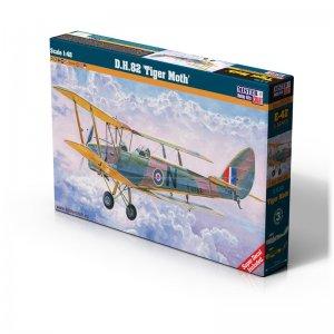 D.H. 82 Tiger Moth · MC E42 ·  Mistercraft · 1:48