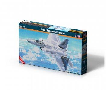 F-22 Advanced Fighter · MC F06 ·  Mistercraft · 1:72